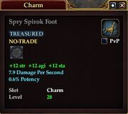 Spry Spiroc Foot