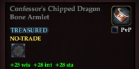 Confessor's Chipped Dragon Bone Armlet