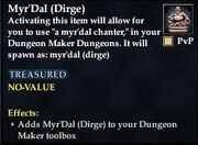 Myr'Dal (Dirge)