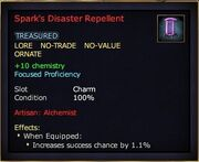 Spark's Disaster Repellent