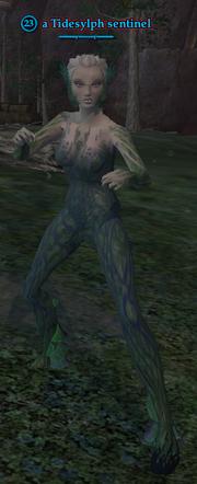 A Tidesylph sentinel