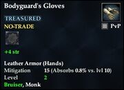 Bodyguard's Gloves
