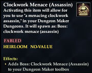 Clockwork Menace (Assassin)