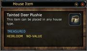 Tainted Deer Plushie