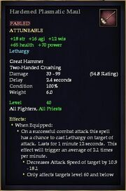 Hardened Plasmatic Maul