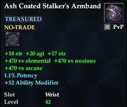 Ash Coated Stalker's Armband