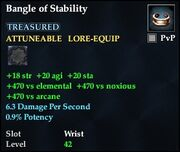 Bangle of Stability