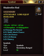 Shadowfire Rod