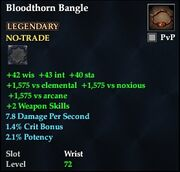 Bloodthorn Bangle