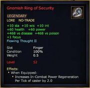 Gnomish Ring of Security