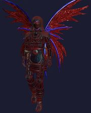 Tainted Shadowsteel Armor Set