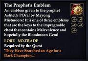 The Prophet's Emblem