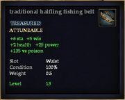 Traditional halfling fishing belt