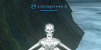 A decrepit wraith