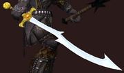 Deepwater Scion Blade (Equipped)