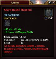 Seer's Rustic Hauberk