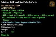 Tailored Swiftcloth Cuffs