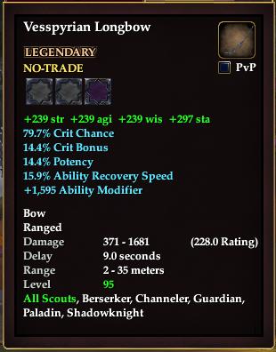 Vesspyrian Longbow