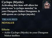 Cyclops (Mystic)