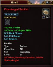 Dawnforged Buckler
