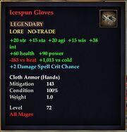 Icespun Gloves