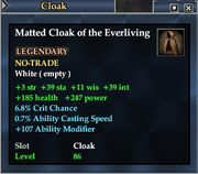 Matted Cloak of the Everliving