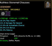 Ruthless Stonemail Chausses
