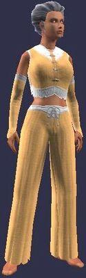Silent Fist Initiate (Armor Set) (Visible, Female)