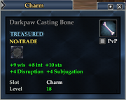 Darkpaw Casting Bone