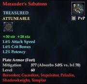 Marauder's Sabatons