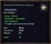 Bracelet of Woven Essence