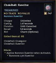 Chokéball Rawritor