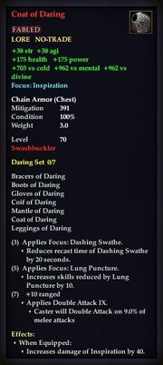 Coat of Daring