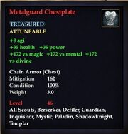 Metalguard Chestplate