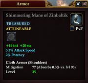 Shimmering Mane of Zinbaltik