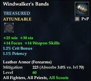Windwalker's Bands