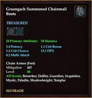 Gruengach Summoned Chainmail Boots