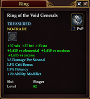 Ring of the Void Generals