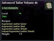 Advanced Tailor Volume 44