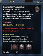 Elemental Vanquisher's Chestguard Mold