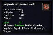 Fulginate brigandine boots