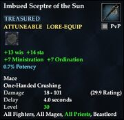 Imbued Sceptre of the Sun