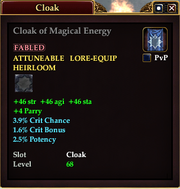 Cloak of Magical Energy