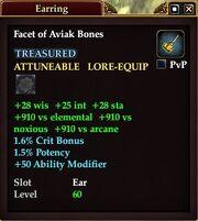 Facet of Aviak Bones