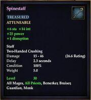 Spinestaff