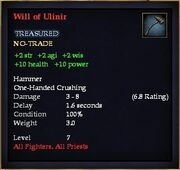 Will of Ulinir