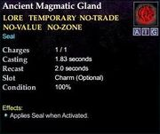 Ancient Magmatic Gland