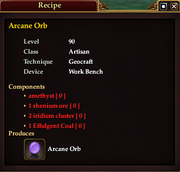 Arcane Orb (Recipe)