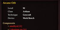 Arcane Orb (Recipe)