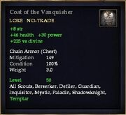 Coat of the Vanquisher